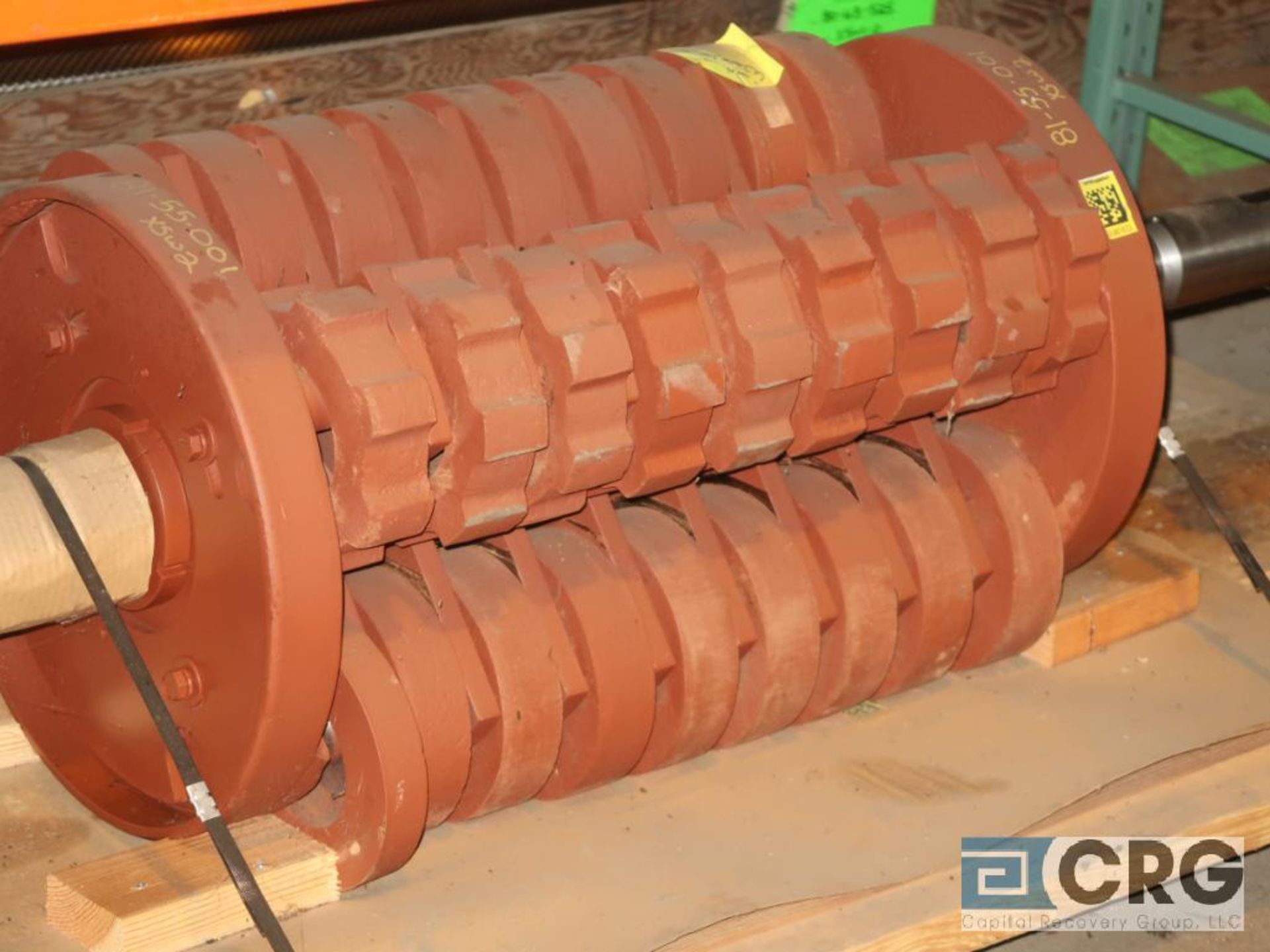 Lot of assorted parts for debarker, coal, and chipper on (29) pallets (Next Bay Cage Area) - Image 15 of 17