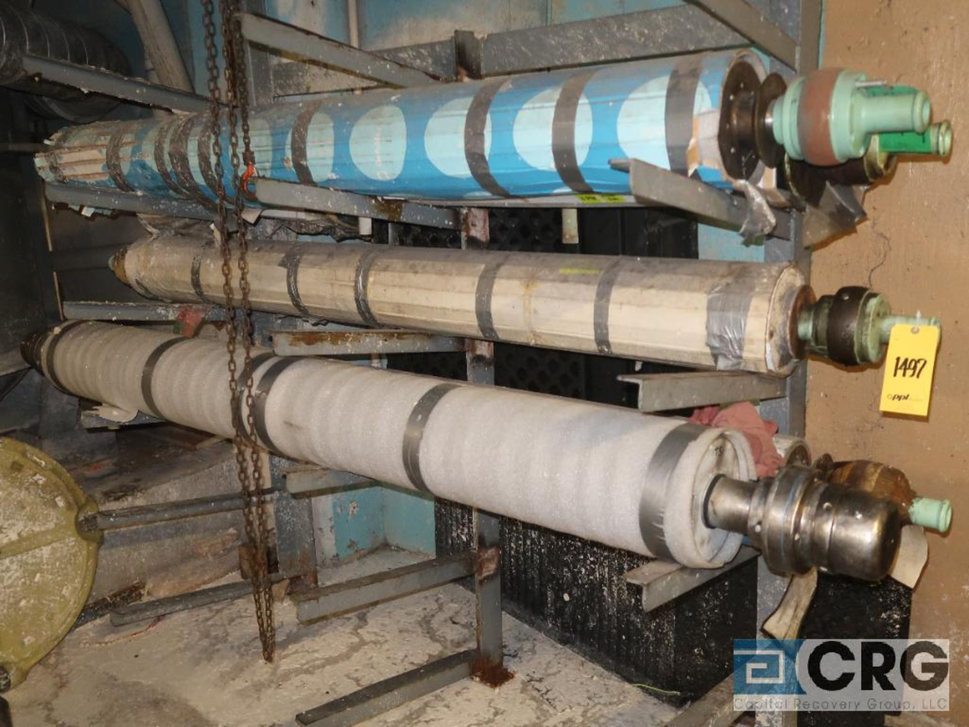 Lot of (14) paper machine rolls (Basement Stores) - Image 2 of 3