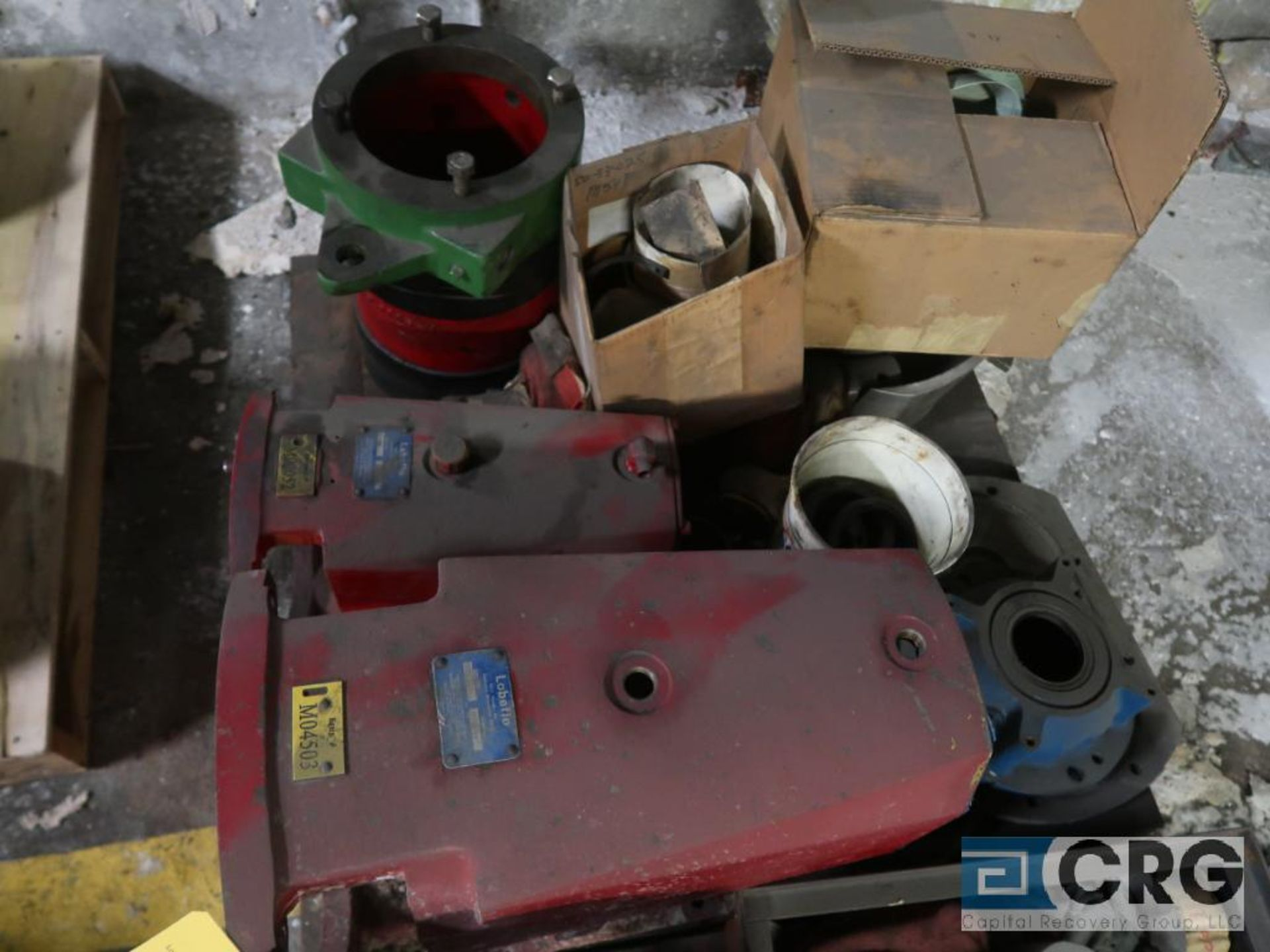 Lot of assorted Waukesha pump parts on (2) pallets including impellers, gaskets, and sen. Shafts ( - Image 2 of 2