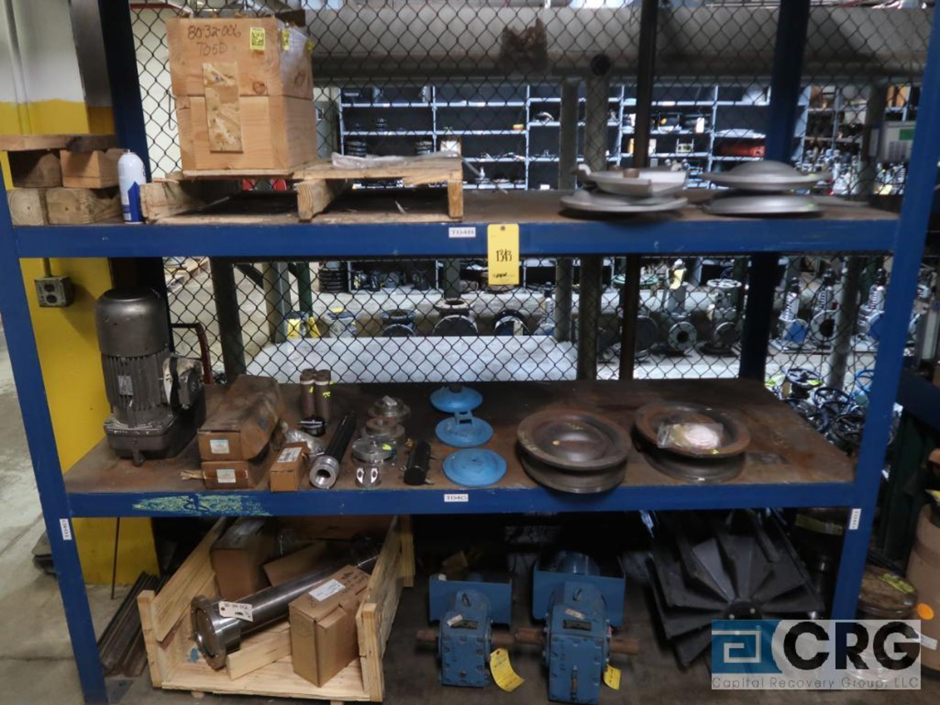Lot of (4) sections assorted shafts, motor rotors, and ringe gauges (Store Basement) - Image 6 of 7