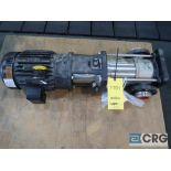 Grundfos stainless 2 1/2 in. f345idql pump with 5 HP motor, s/n 0003 (Finish Building)