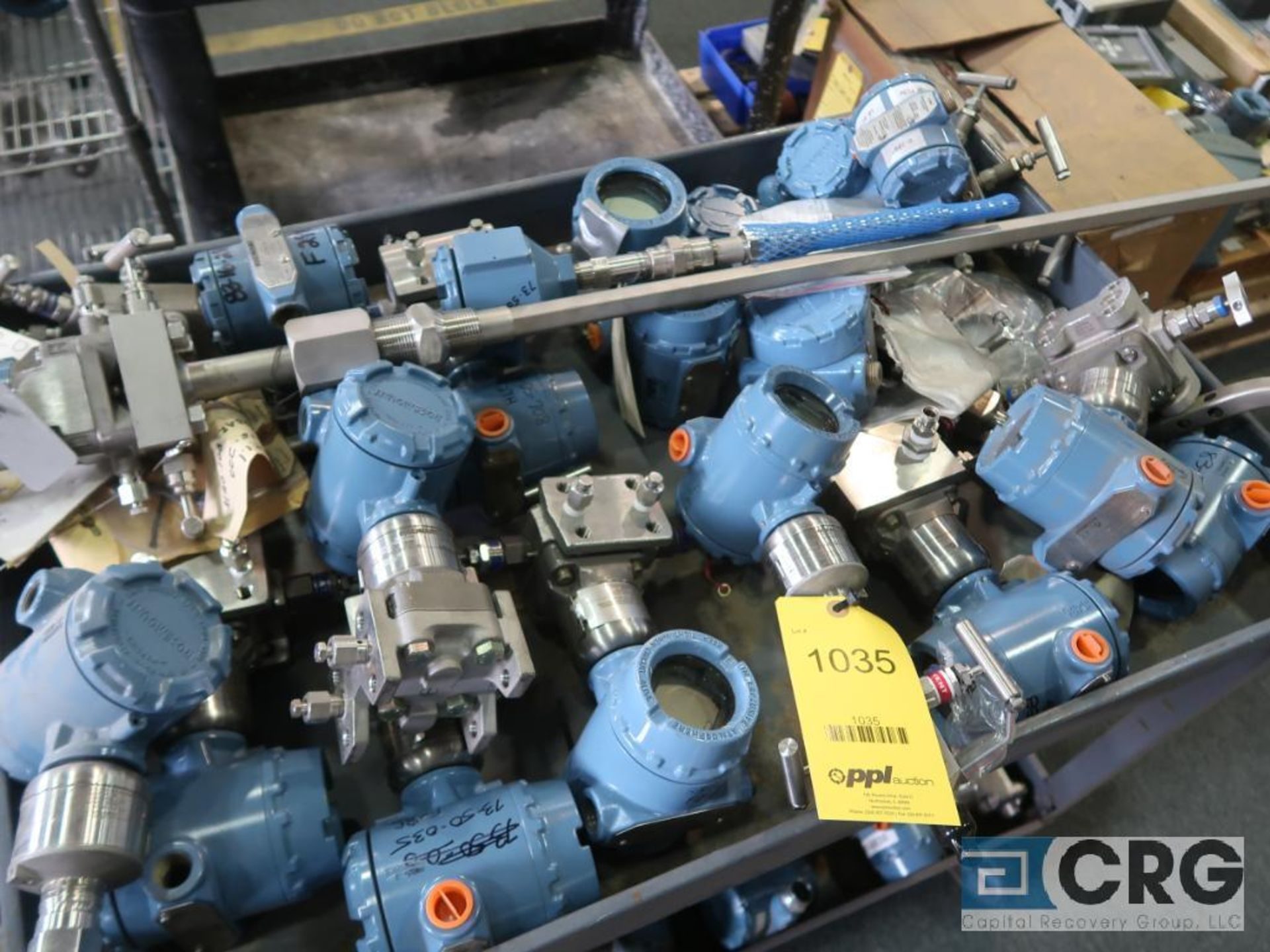Lot of (18) Rosemount pressure and field transmitters (Finish Building)