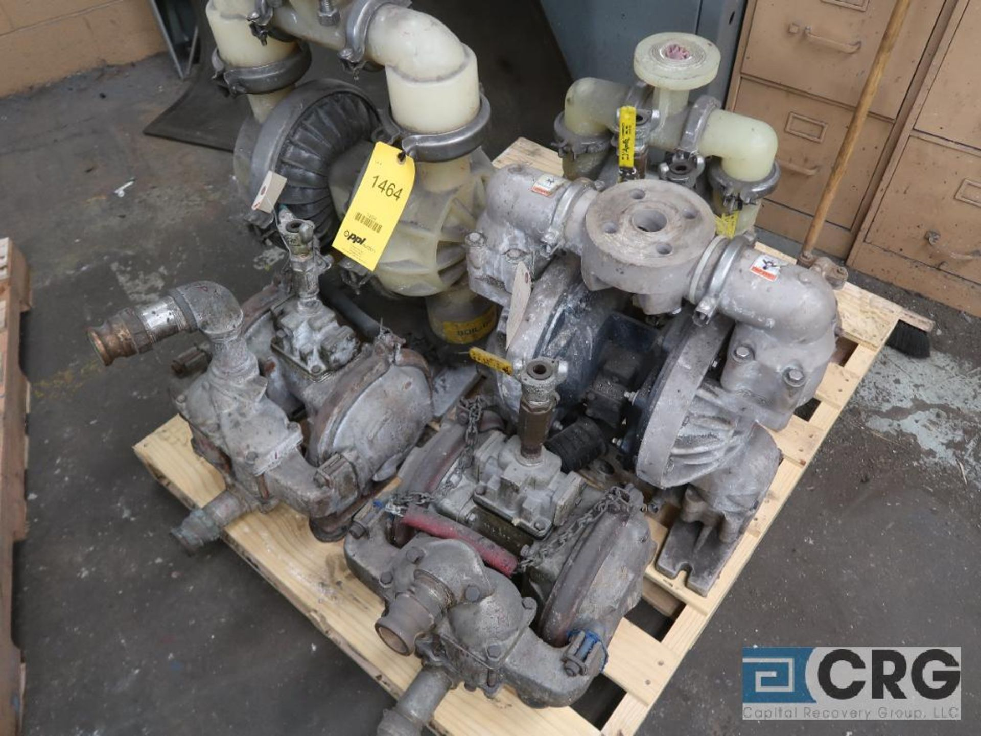 Lot of (6) diaphragm pumps (Basement Stores)