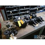 Lot of (13) Radiant pumps and sight glasses (Store Basement)