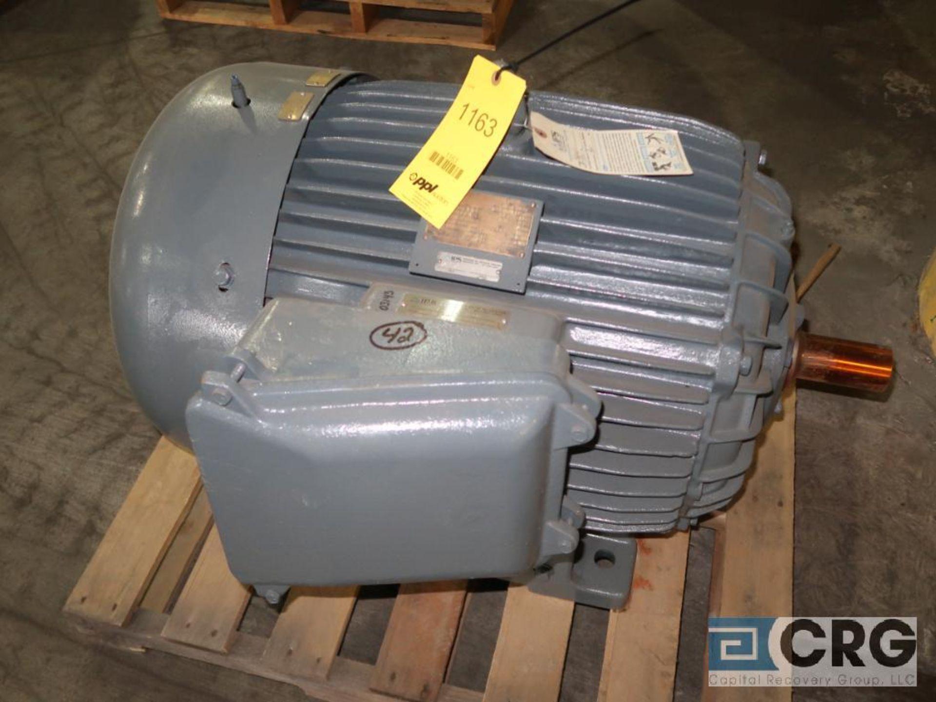 Elektrim motor, 100 HP, 1,775 RPMs, 230/460 volt, 3 ph., 405TS frame (Finish Building)