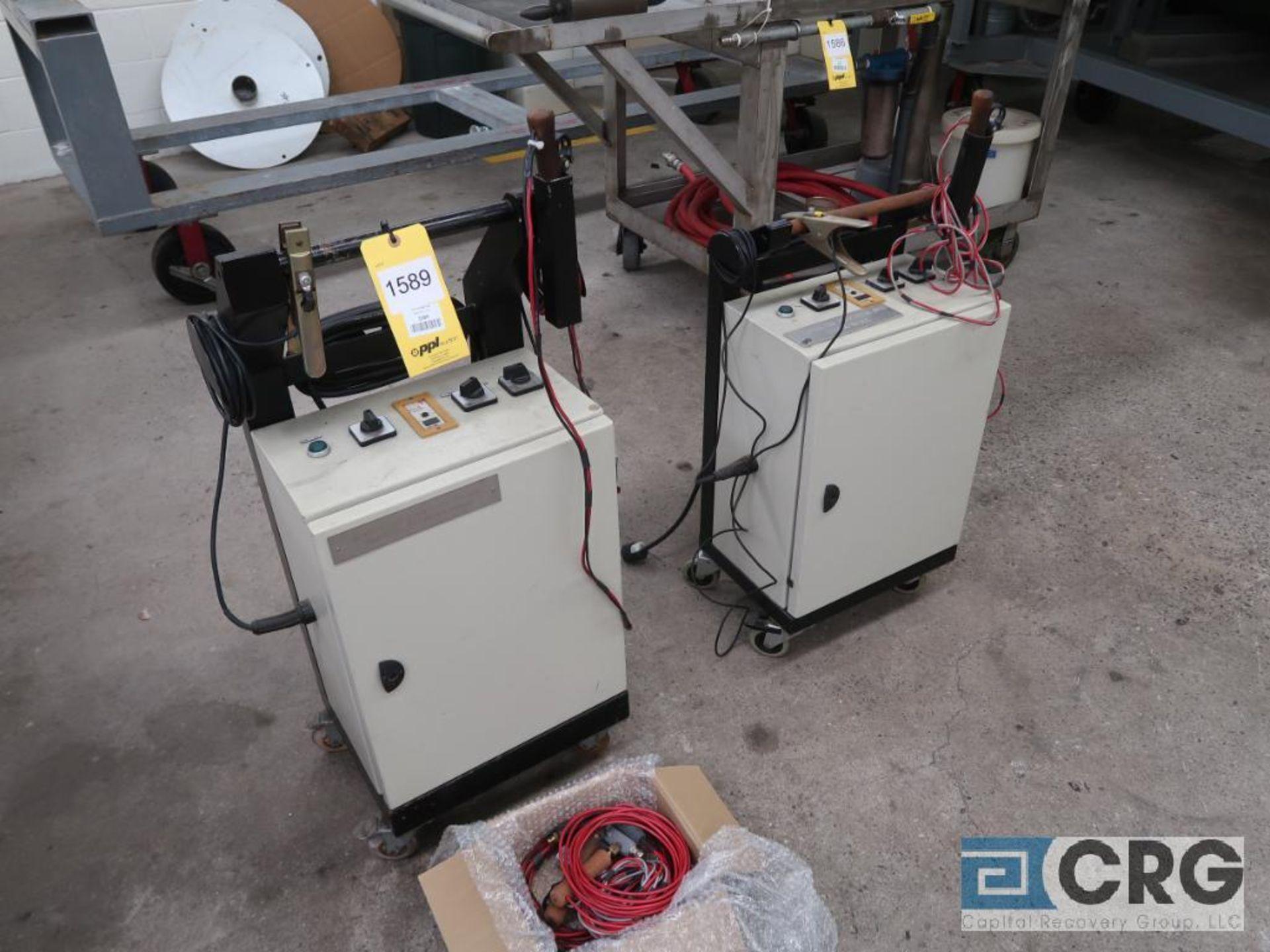 Lot of (2) 110 Volt low resistance welders(Dandy Room)