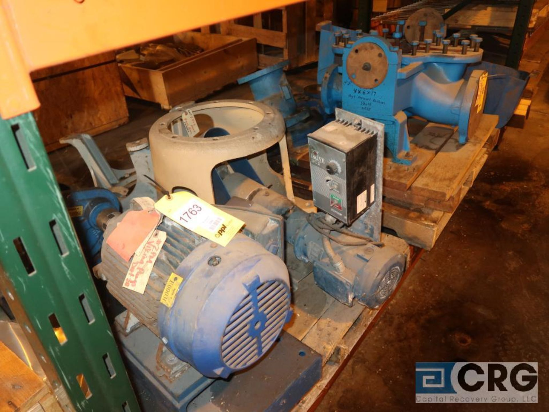 Lot of assorted parts including expansion joint, valves, fan blade, and rotors (Next Bay Cage Area) - Image 10 of 15