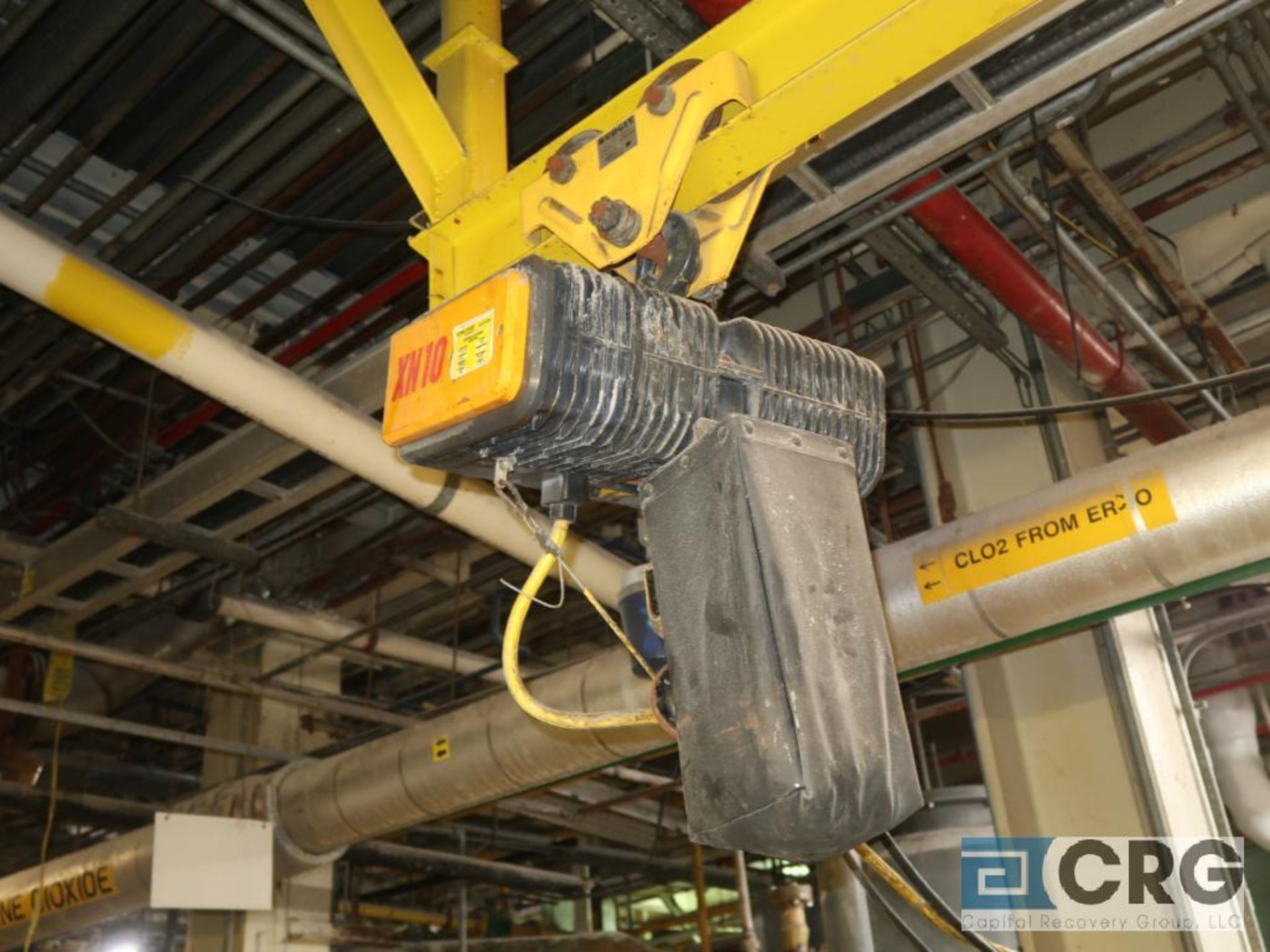 Konecranes XN25 electric hoist, 3 ton cap., hoist only, no beam-LATE DELIVERY (Located on Level - Image 8 of 12