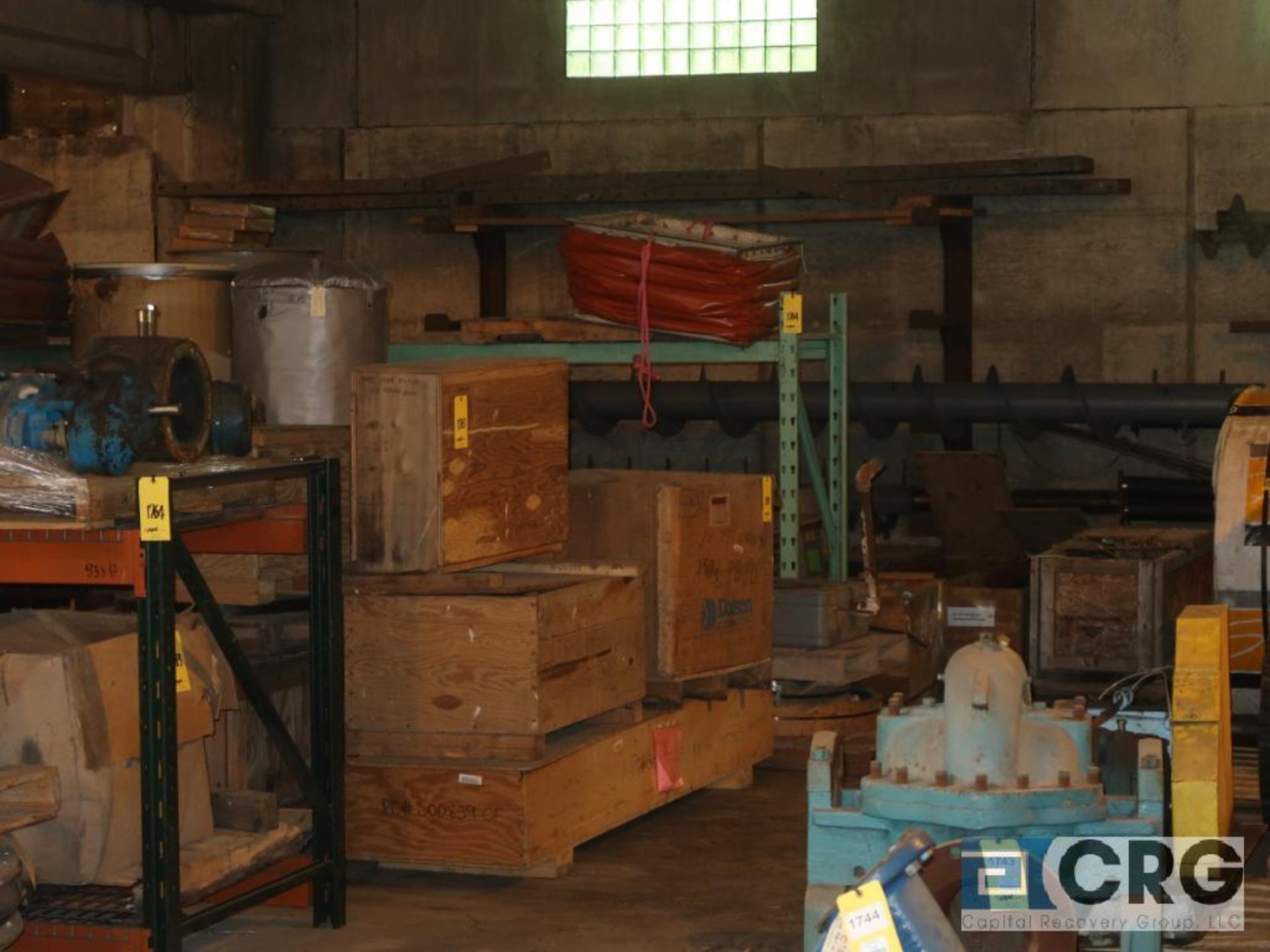 Lot of (24) sections pallet rack including (5) 8 ft. x 48 in. W, (24) 8 ft. cross bars, (4) 8 ft. - Image 4 of 7