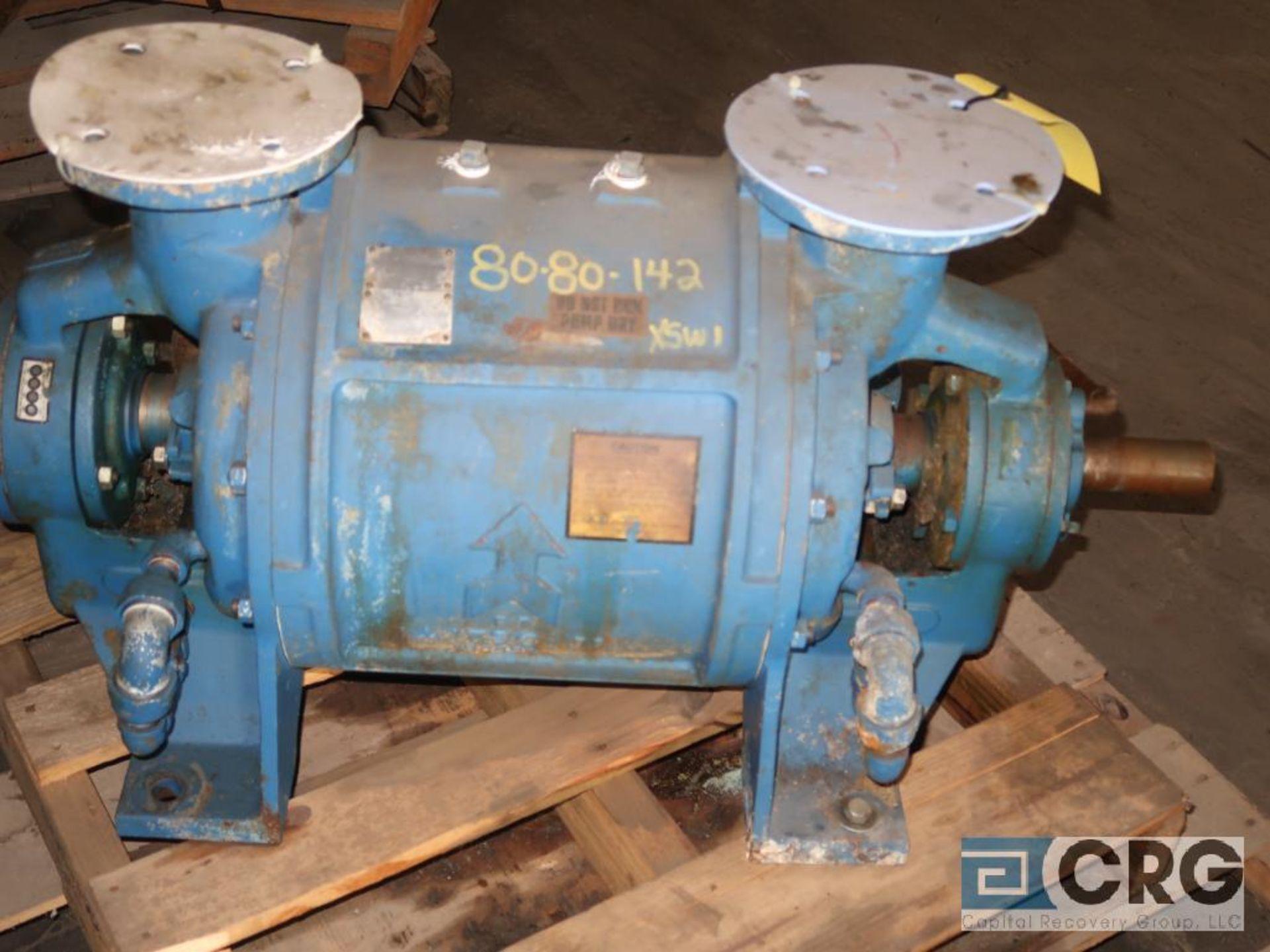 Nash CL 402 vacuum pump, mfg 2011, s/n D 1554 (Off Site Warehouse)