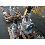 Lot of (2) safety relief valves, (1) 6 in., and (1) 8 in. (Finish Building)