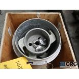 Voith N321761 stainless screen basket and rotor, 0.20 MM, 10 in. dia. X 12 in. H (Basement Stores)