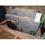 Falk 2070Y1LB gear drive, ratio-4.095, input RPM 1,750, output RPM 427.4, service rate HP. 250, s/