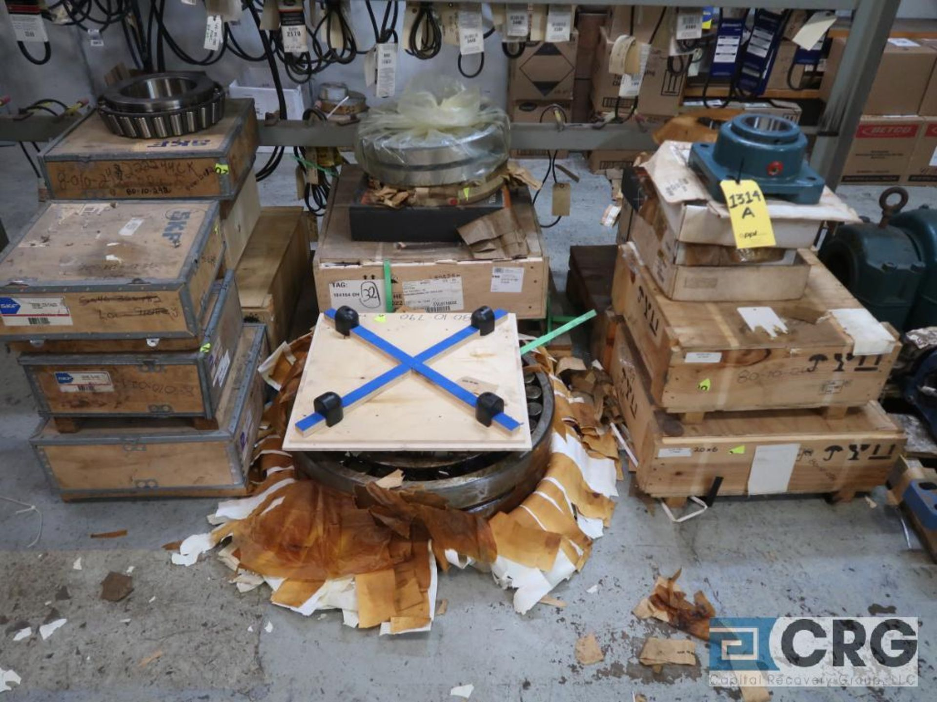 Lot of assorted large bearings and pillow blocks on (6) pallets (Basement Store) - Image 8 of 8