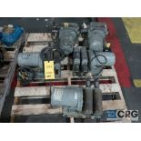 Lot of (5) Von Weise V00658V10 metering lube pumps with 1/4 HP motor (Finish Building)