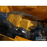 Lot of (3) crates with turbine parts (Next Bay Cage Area)