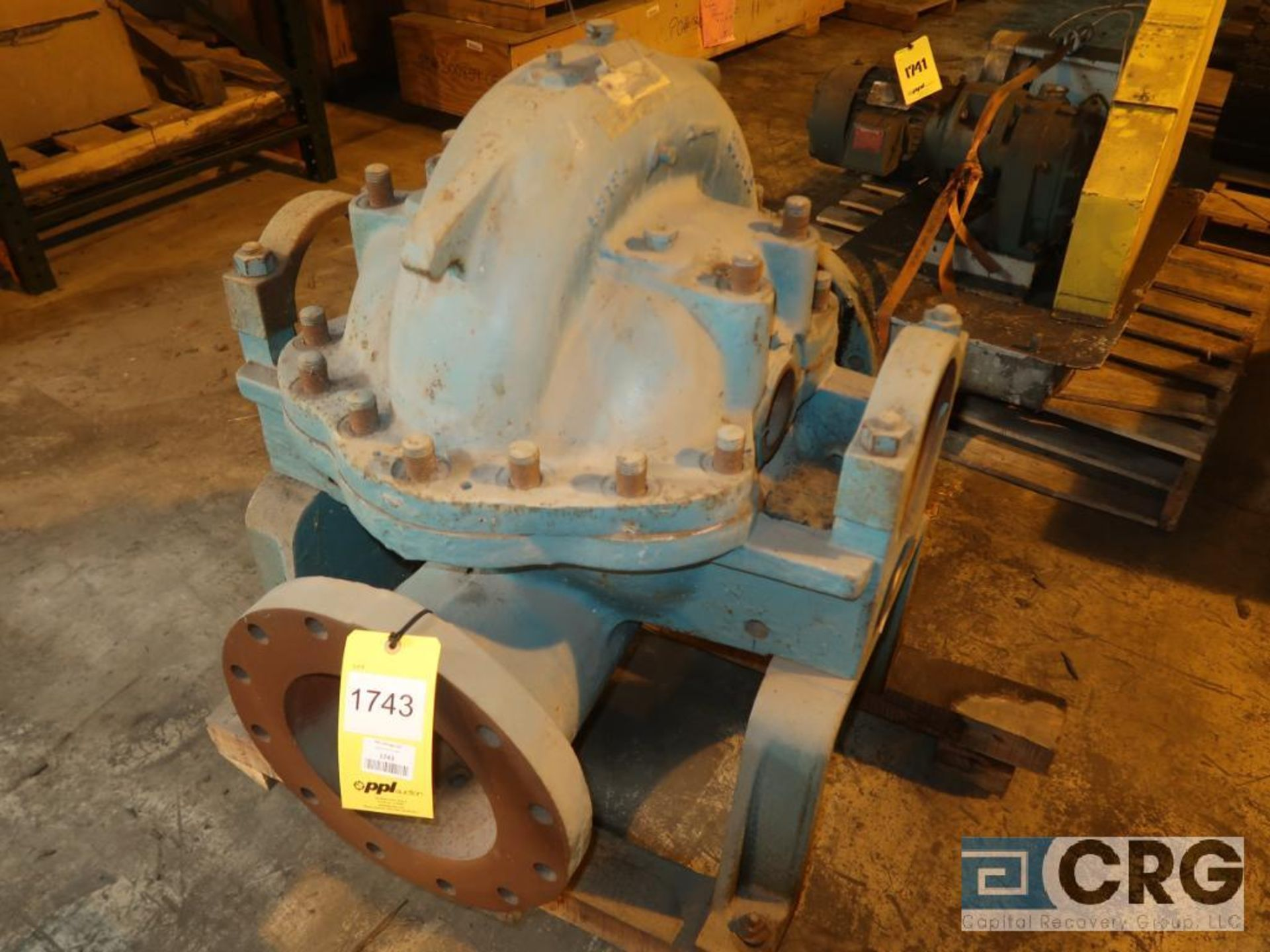 Goulds 10 x 12 pump (Next Bay Cage Area)