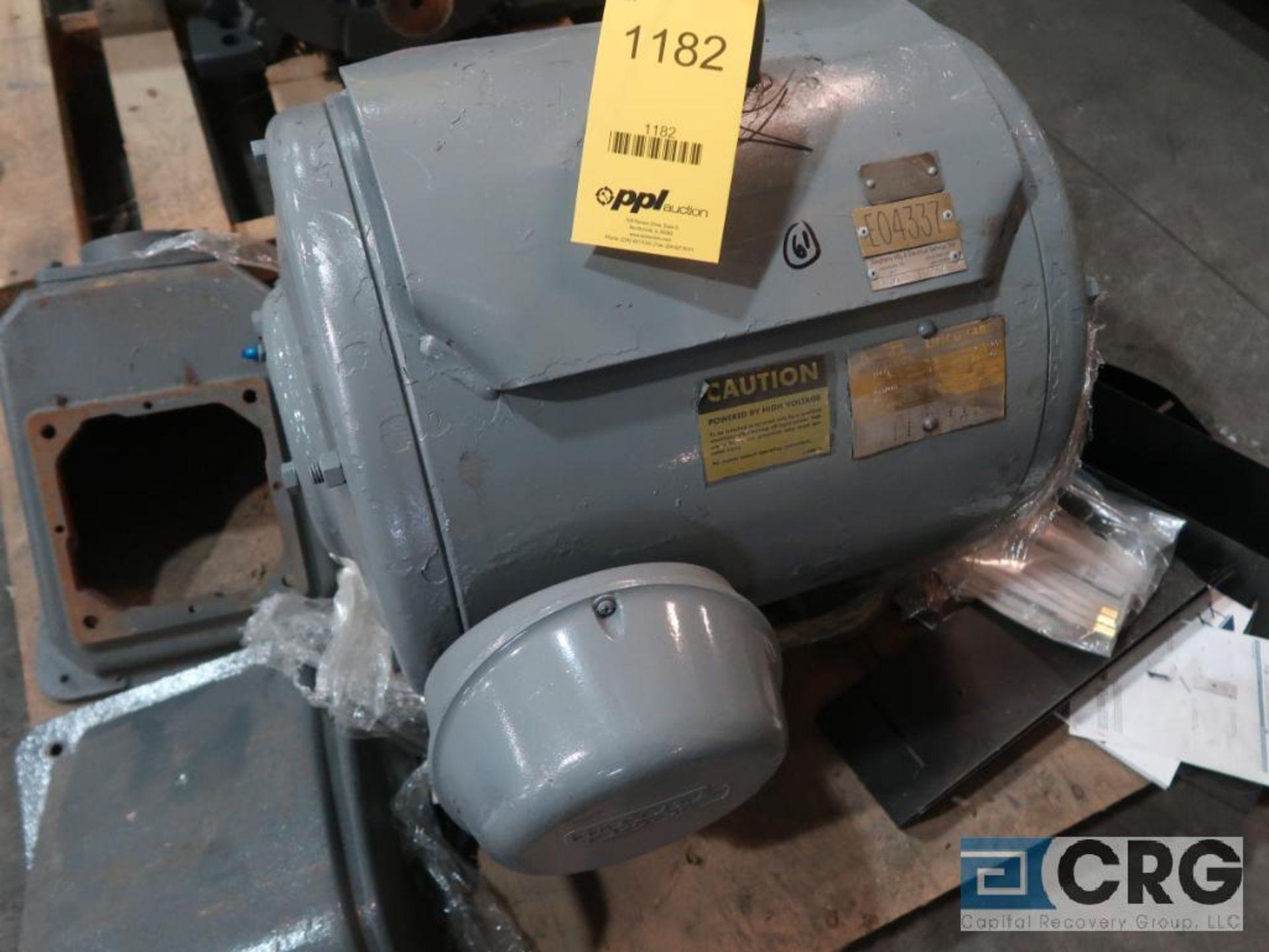 Lincoln A.C. Motors Lineguard Dripproof A.C. motor, 75 HP, 3,520 RPMs, 230/460 volt, 3 ph., 364TS