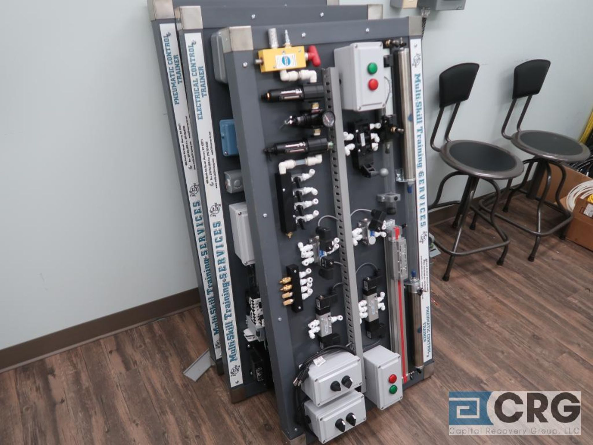 Lot of (16) assorted training consoles including pneumatic, hydraulic, and electrical (includes ( - Image 3 of 4