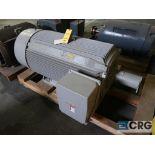 Siemens electric motor, 300 HP, 1,185 RPMs, 460 volt, 3 ph., S449LS frame (Finish Building)