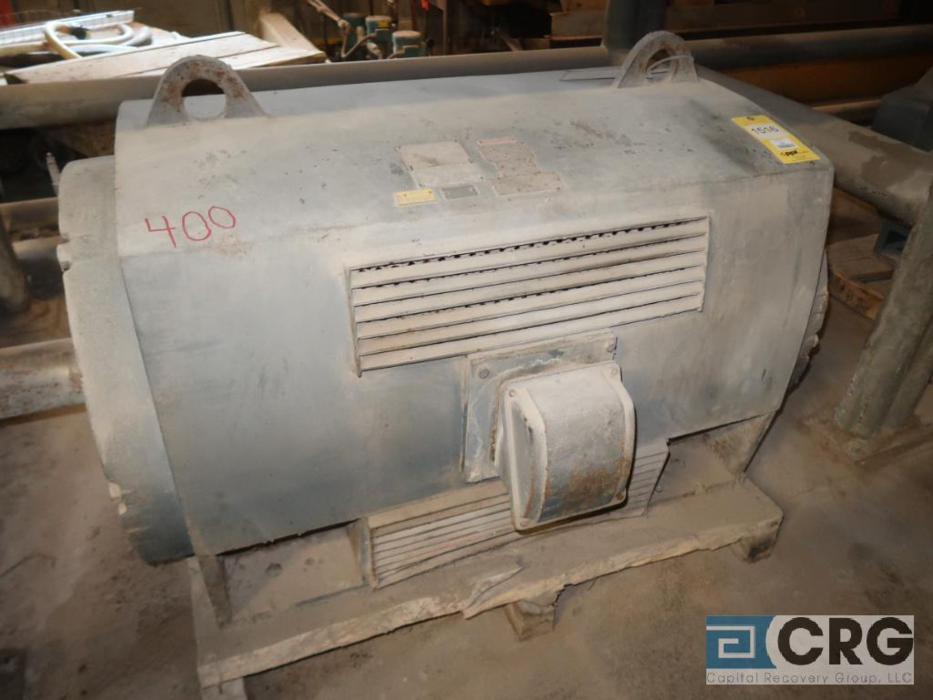 Teco motor, 400 HP, 704 RPM, 2,600 volt, equipment EE00824 (496 Dock Area)