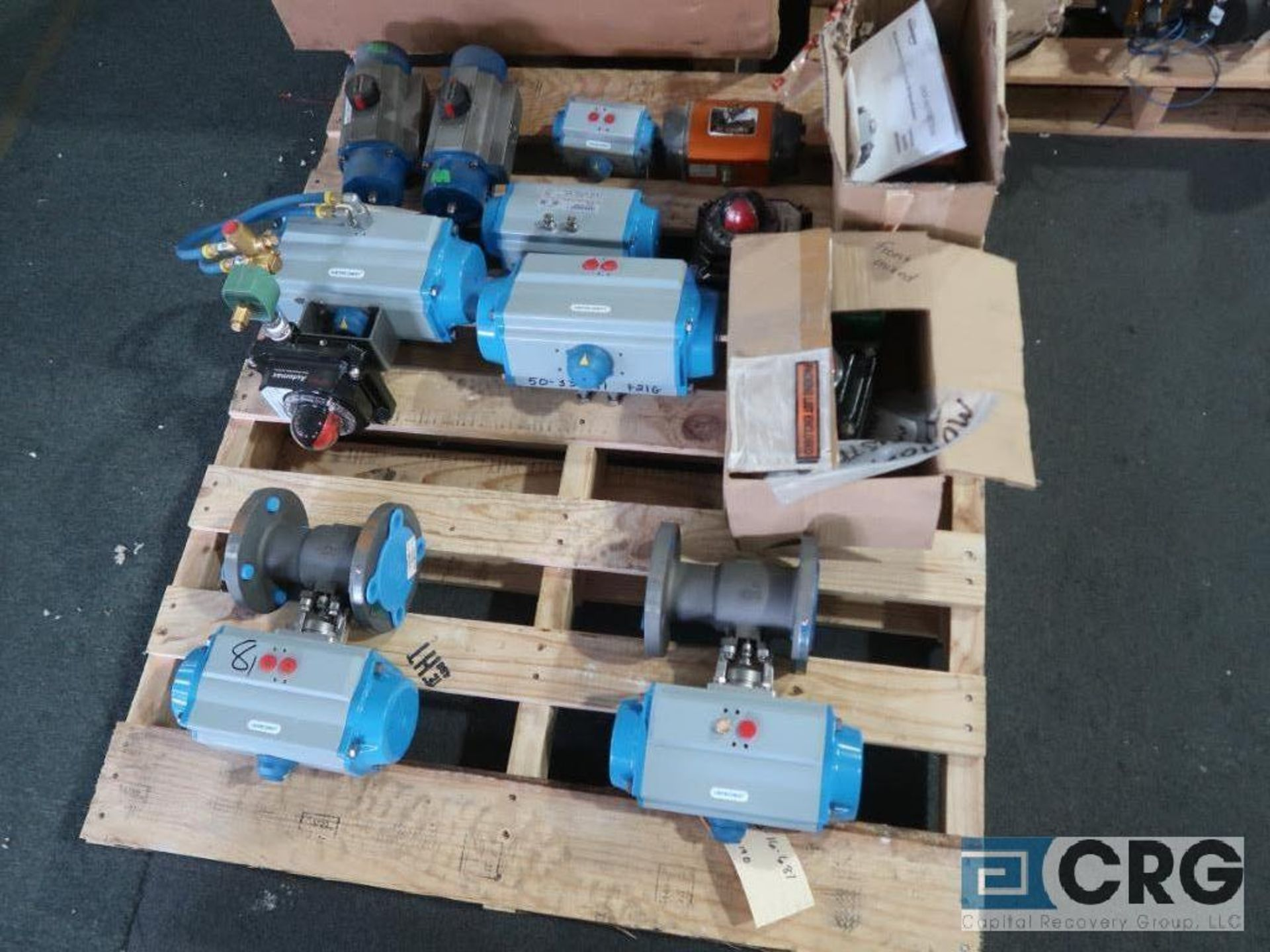 Lot of Jamesbury and Worchester actuators on (3) pallets (Finish Building) - Image 2 of 3