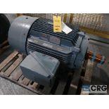 Siemens PE-21 PLUS motor, 125 HP, 1,785 RPMs, 460 volt, 3 ph., 444T frame (Finish Building)
