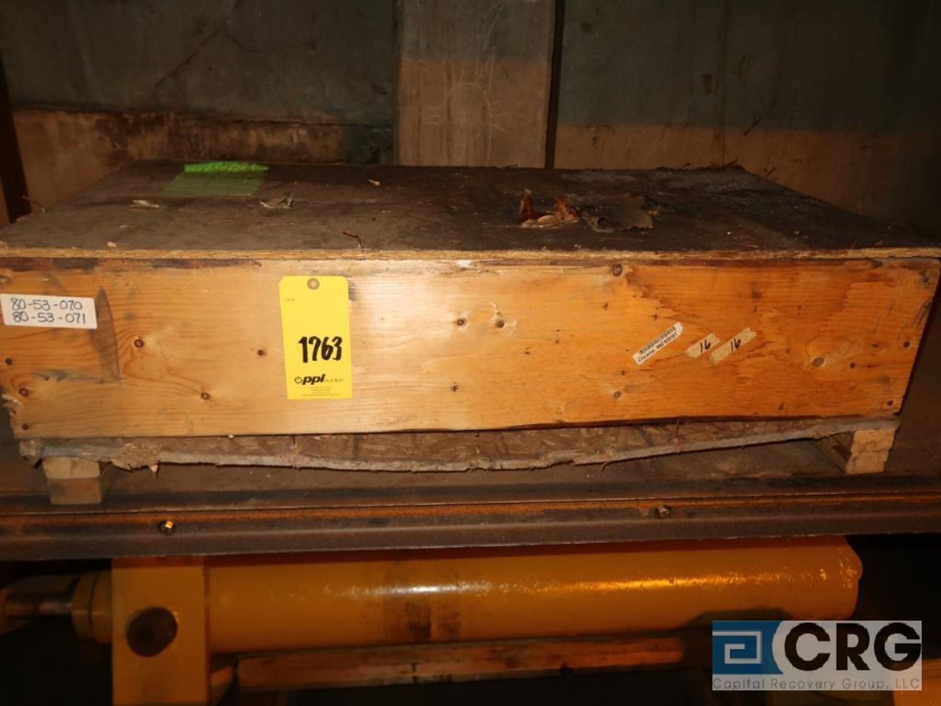 Lot of assorted parts including expansion joint, valves, fan blade, and rotors (Next Bay Cage Area) - Image 2 of 15