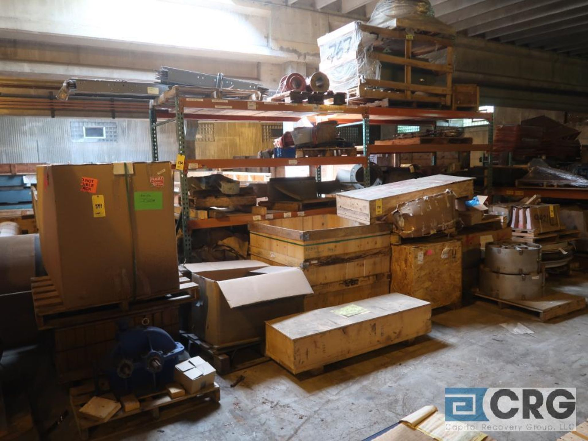 Lot of (24) sections pallet rack including (5) 8 ft. x 48 in. W, (24) 8 ft. cross bars, (4) 8 ft. - Image 3 of 7