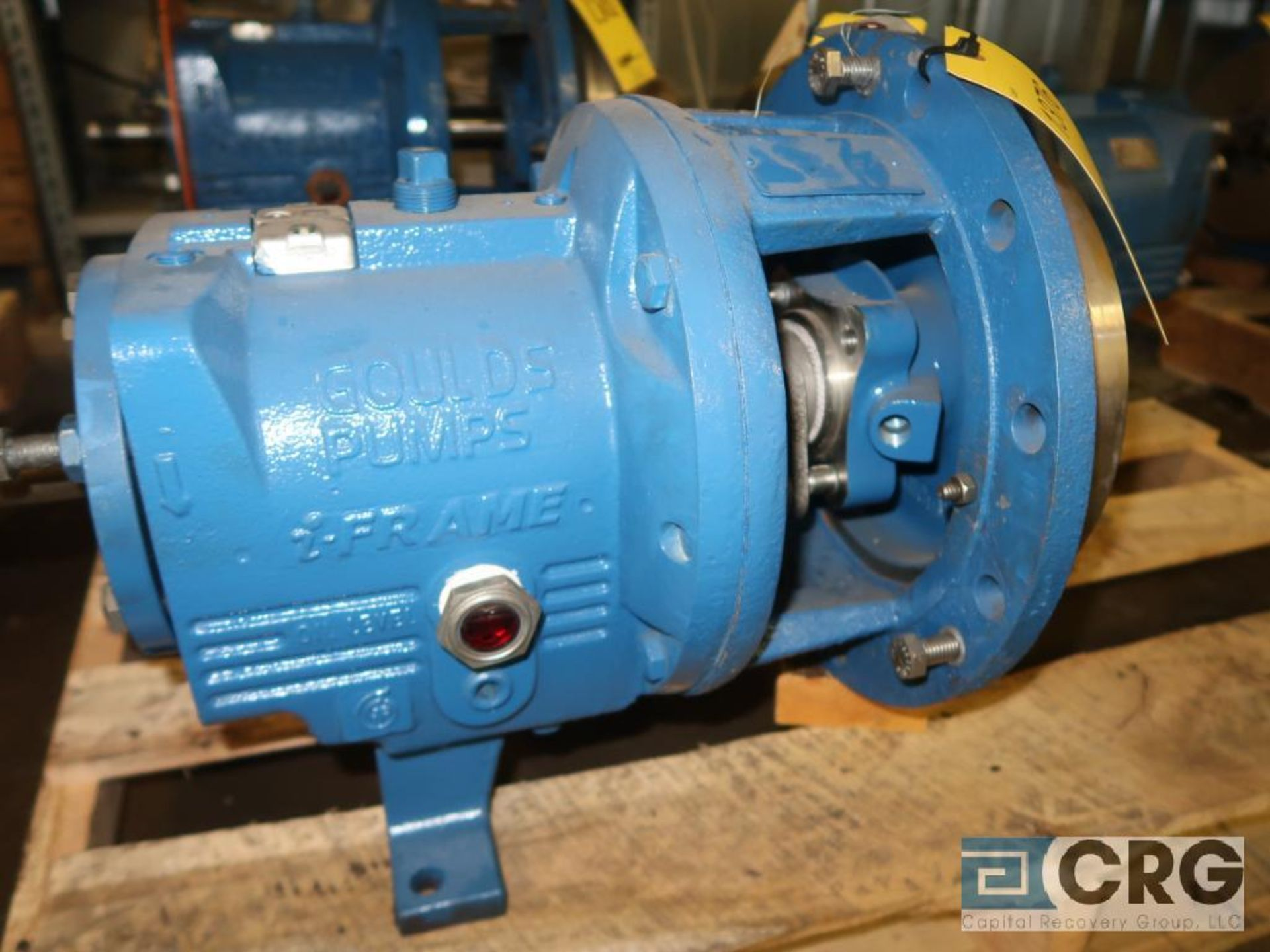 Lot of (3) Goulds 3196 10 in. pumps, (2) MT, and (1) MTX (Basement Stores) - Image 4 of 4