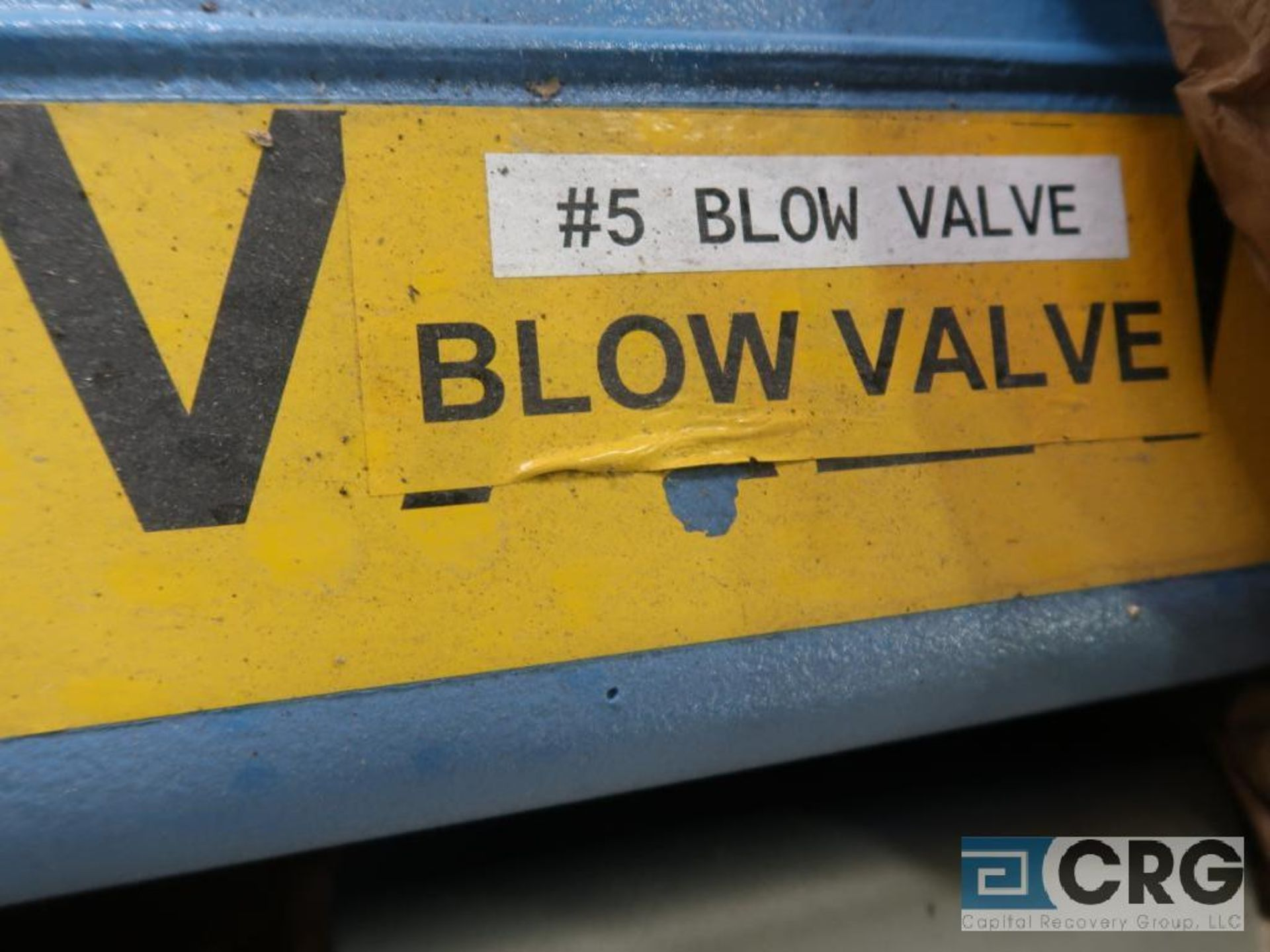 Jamesbury stainless 8 in. actuator valve (Finish Building) - Image 2 of 2
