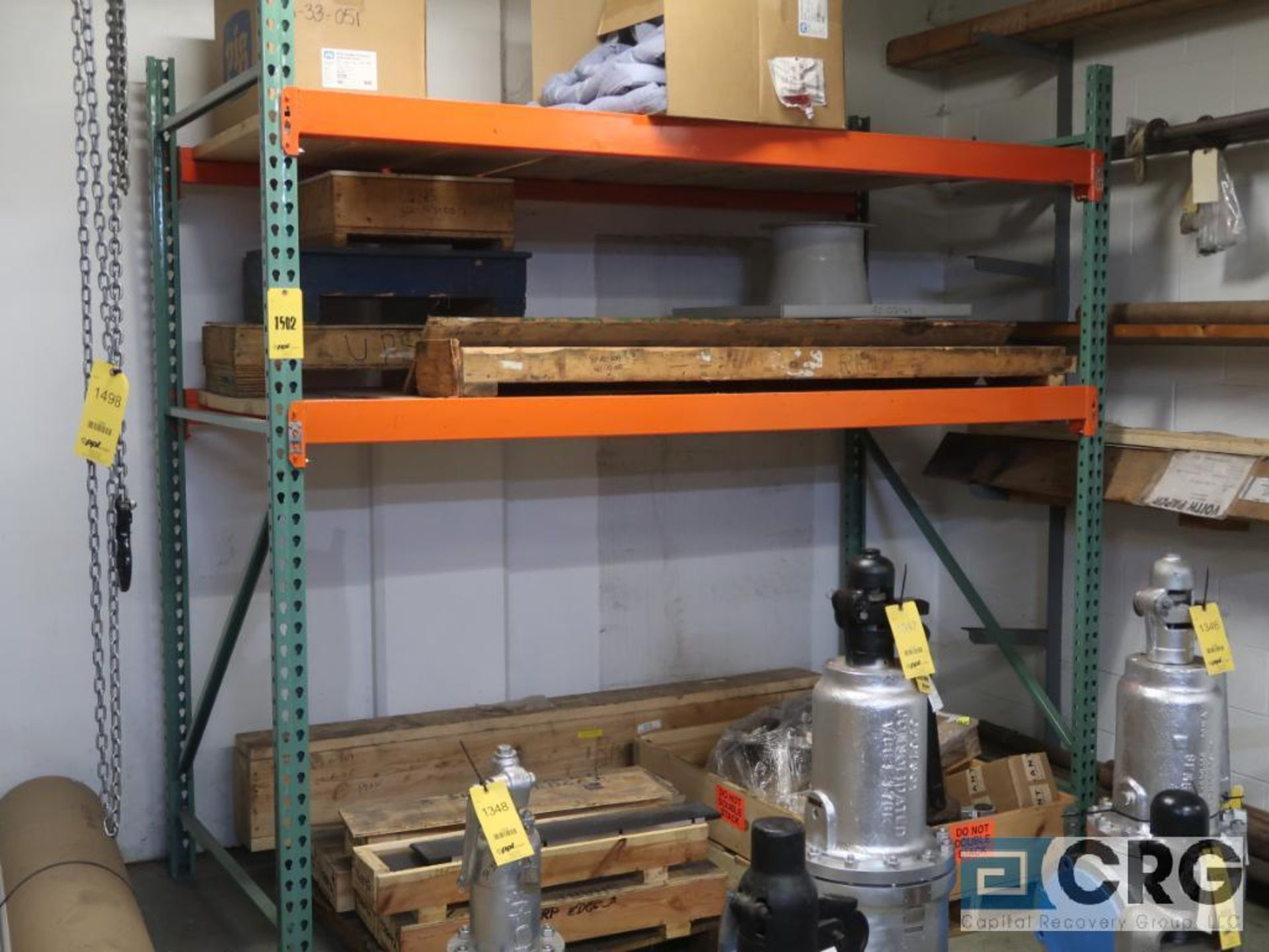 Lot of miscellaneous racking including (1) shop built cantilever rack, 7 ft. H x 10 ft. L x 54 in. - Image 2 of 2