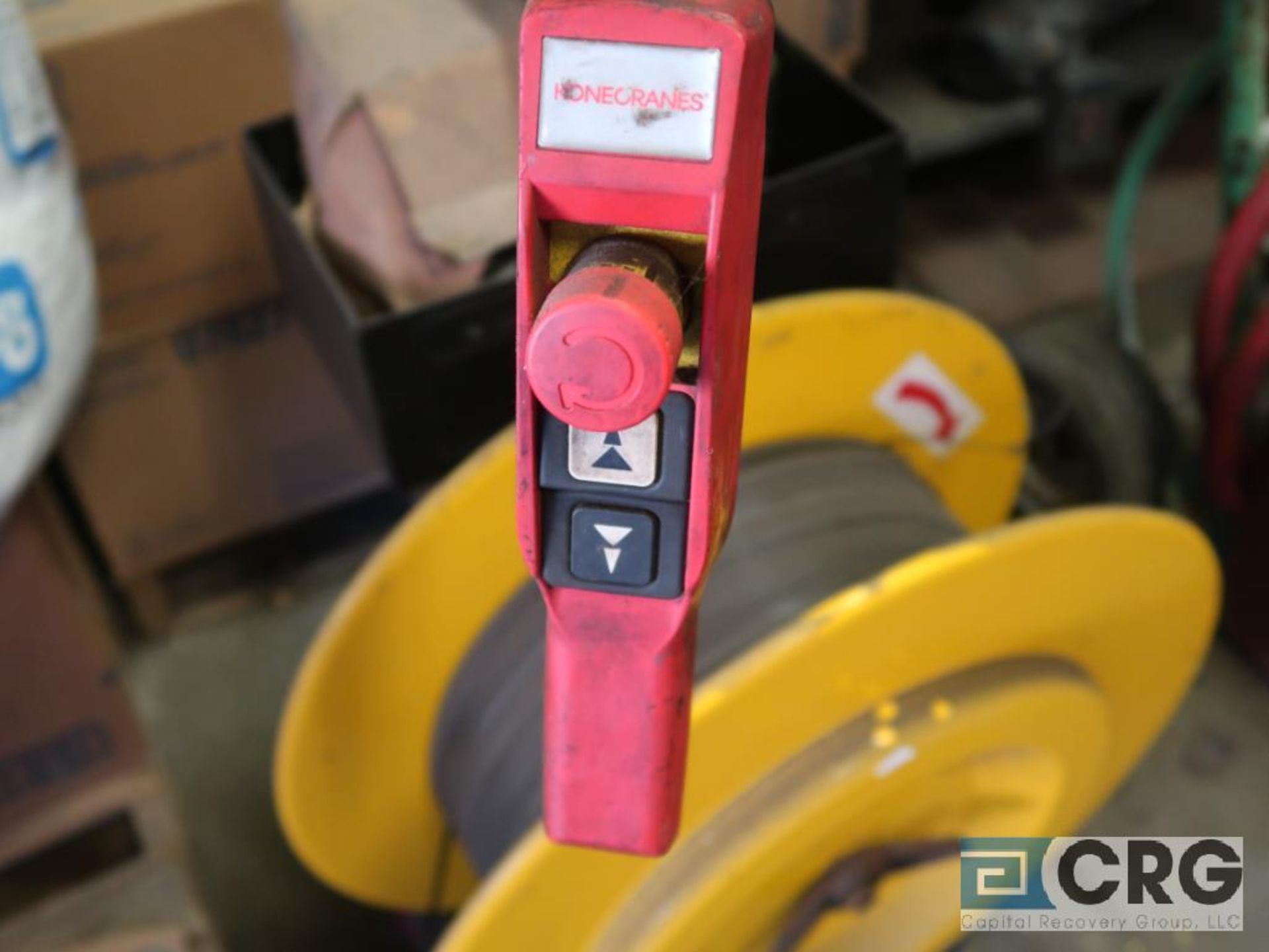 Electric chain hoist, 1 ton cap.-no rail (Stores Area) - Image 4 of 4