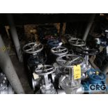 Lot of (12) 4 in. ball valves (Store Basement)