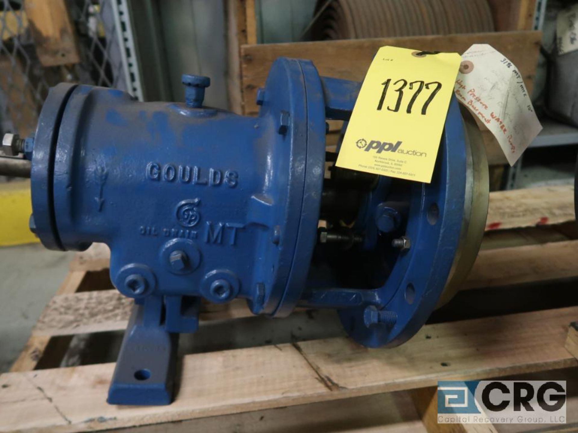 Lot of (3) Goulds 3196 pumps, (2) 13 in.-(1) LTX & (1) MTX, and (1) 10 in. MT/MTX (Basement Stores) - Image 4 of 4
