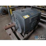 Teco motor, 250 HP 1,170 RPM, 2,300/4,160 volts, equipment #E04776 (496 Dock Area)
