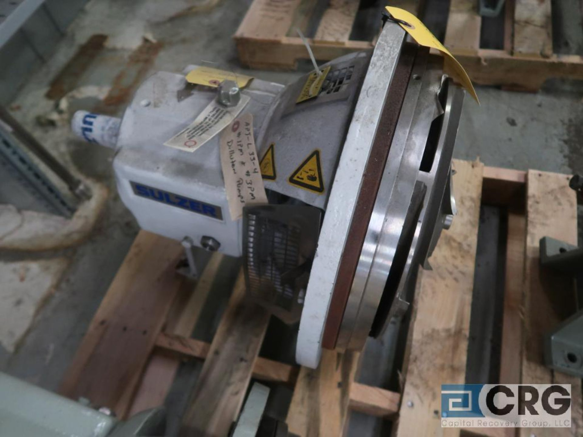 Sulzer APT 33-4 process pump, 10 x 8 x 13 (Basement Stores)