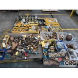 Lot of (4) pallets of bronze/brass fittings (Finish Building)
