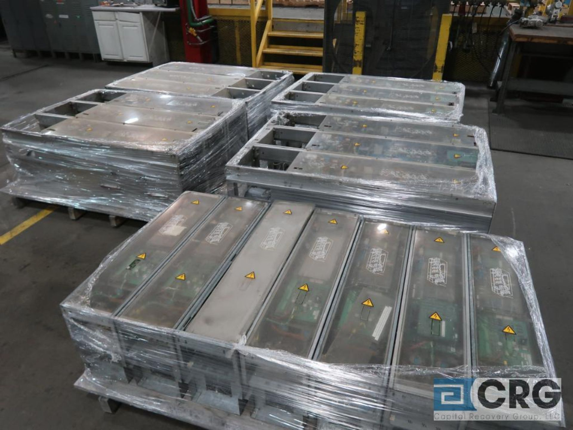Lot of (13) pallets with electrical drive system with (18) ABB drives, Reliance, Auto Max SA3000 - Image 4 of 4