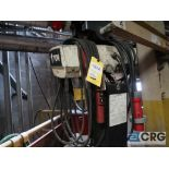Coffing electric hoist, 1 ton, with Spanco 10 ft. swing arm (Located 496 Dock Area)