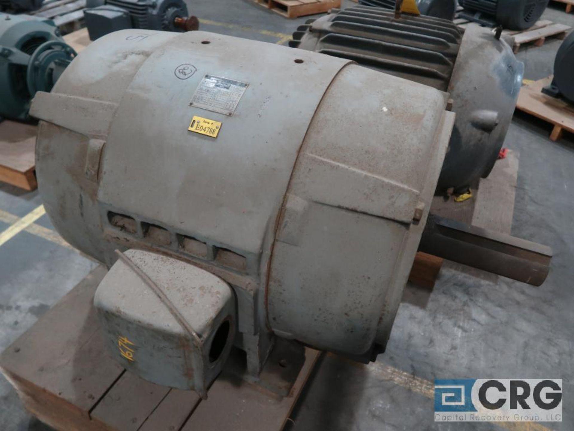 Westinghouse Life-Line A motor, 75 HP, 885 RPMs, 220/440 volt, 3 ph., 504UU frame (Finish Building)