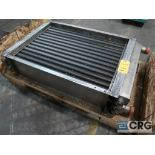 Armstrong stainless heat exchanger, s/n 6654-01 (Motor Building)
