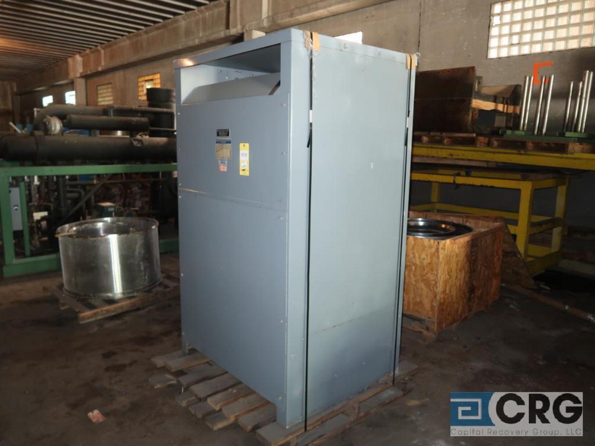Westinghouse motor drive isolation transformer, 440 KVA, 3 ph., 2,300/480 volt, s/n 12410 (Off