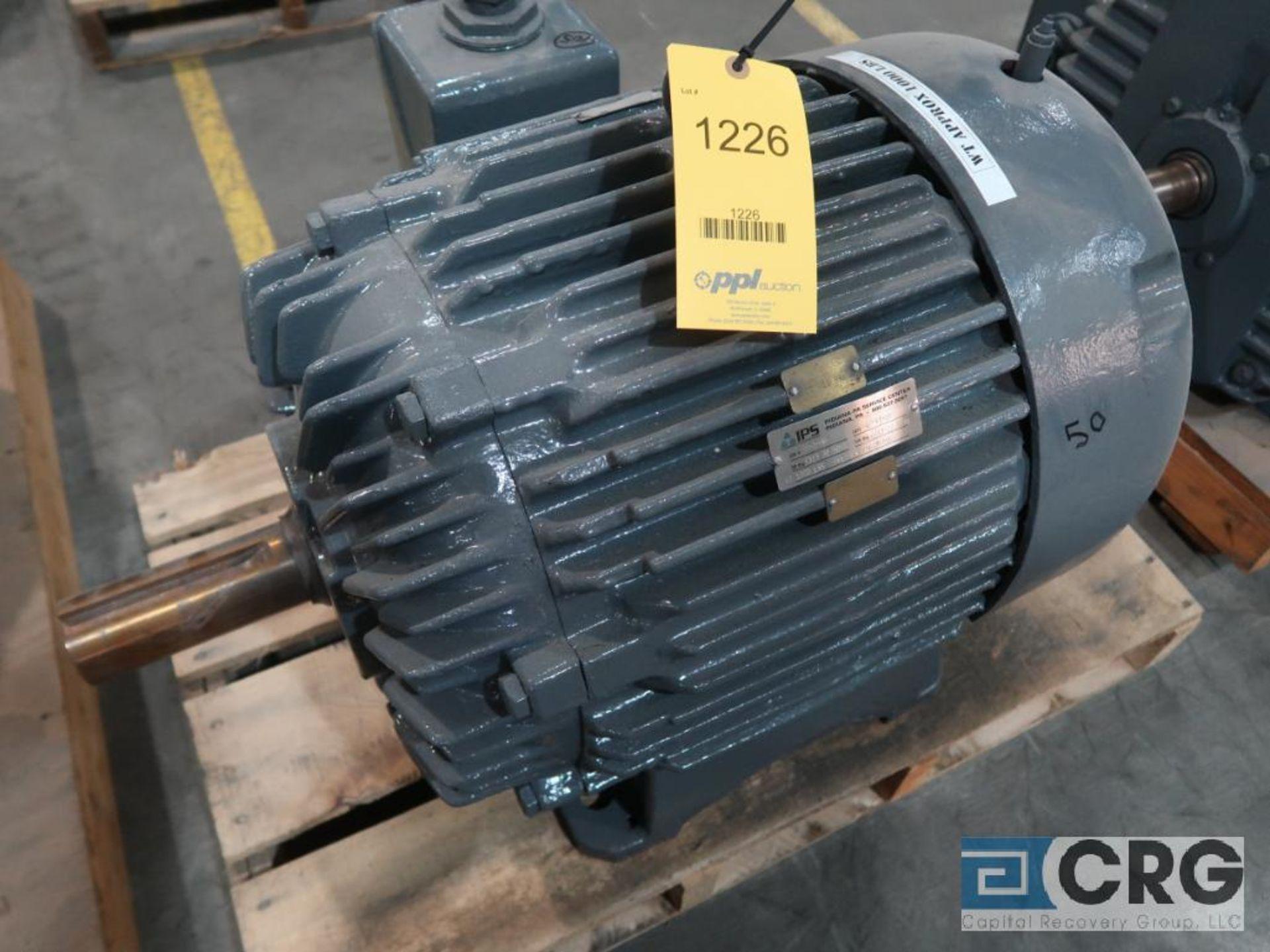 Siemens A-C motor, 50 HP, 1,175 RPMs, 460 volt, 3 ph., 365T frame (Finish Building)