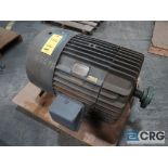 General Electric induction motor, 75 HP, 1,180 RPMs, 230/460 volt, 3 ph., 405TS frame (Finish