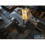 Falk 2080 GHB1KS gear drive, ratio-2.450, input RPM 460, output RPM 186.1, service rate HP. 32, s/