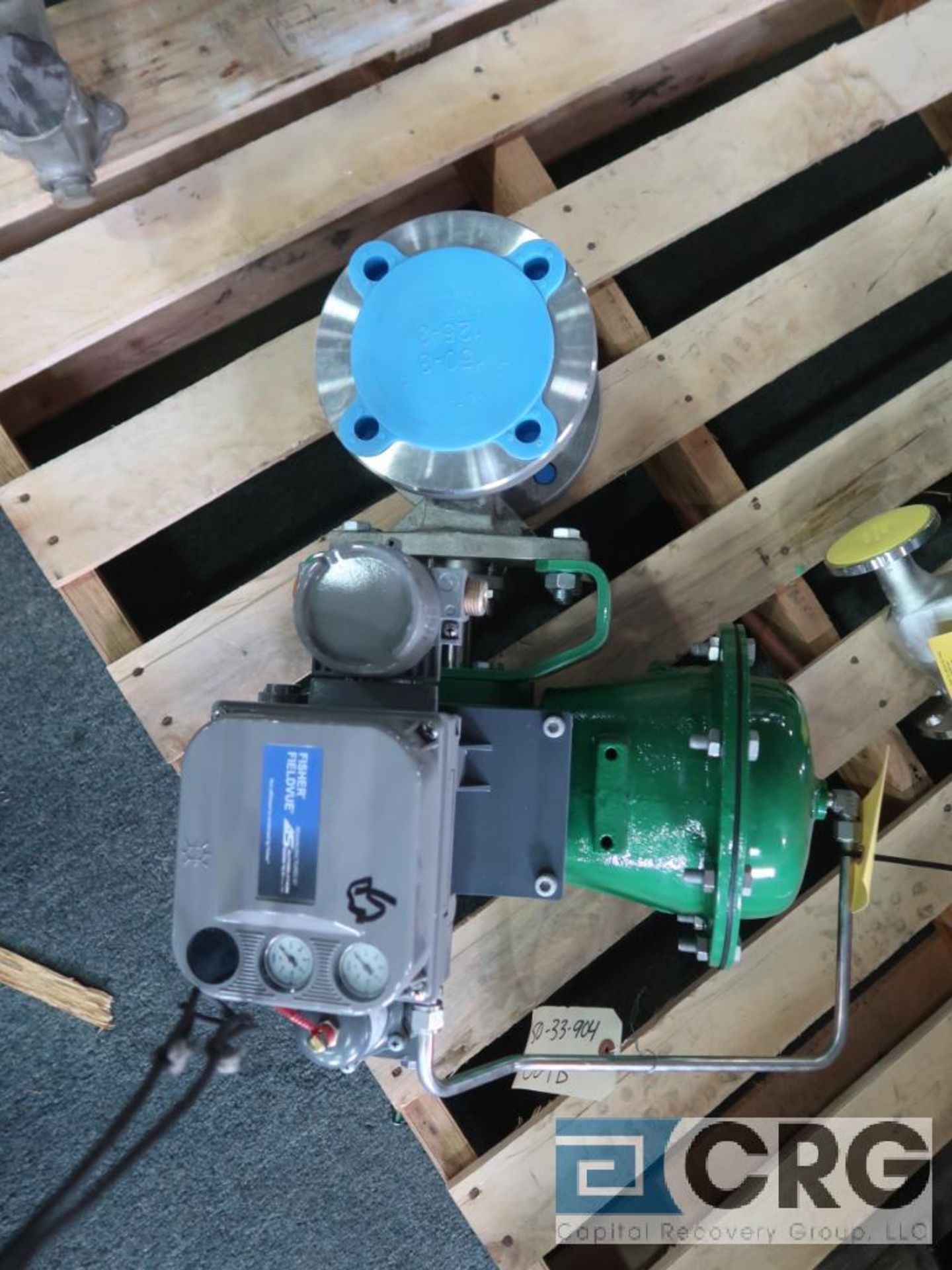 Fisher relief actuator valve, size 3, rating CL150 (Finish Building) - Image 2 of 2
