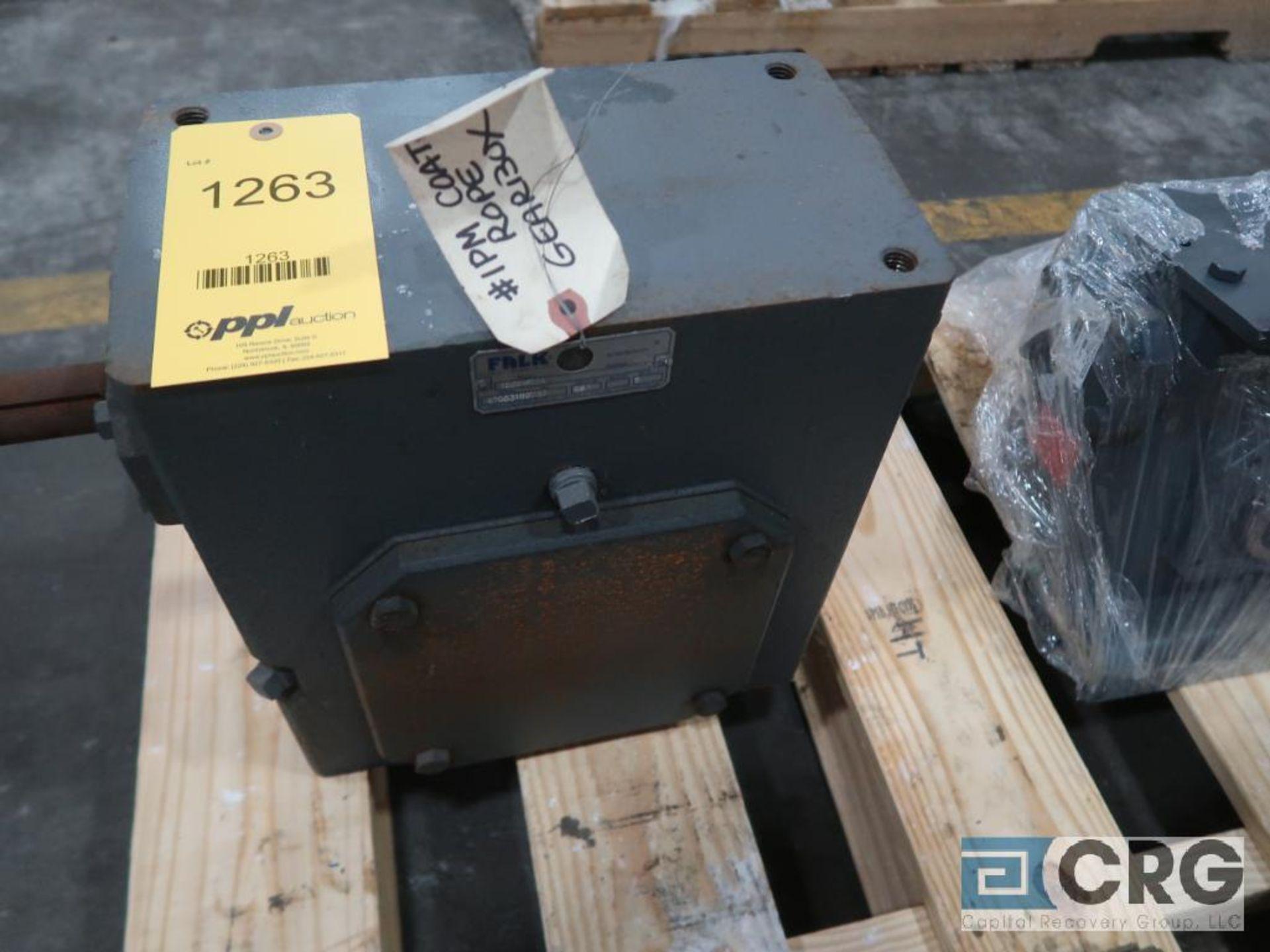 Falk 1525 WB2A gear drive, ratio 5-1, s/n 100707 (Finish Building)