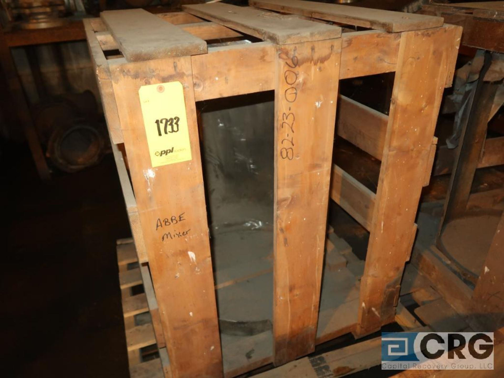Lot of (2) Abbe stainless mixer blade (Next Bay Cage Area) - Image 2 of 2