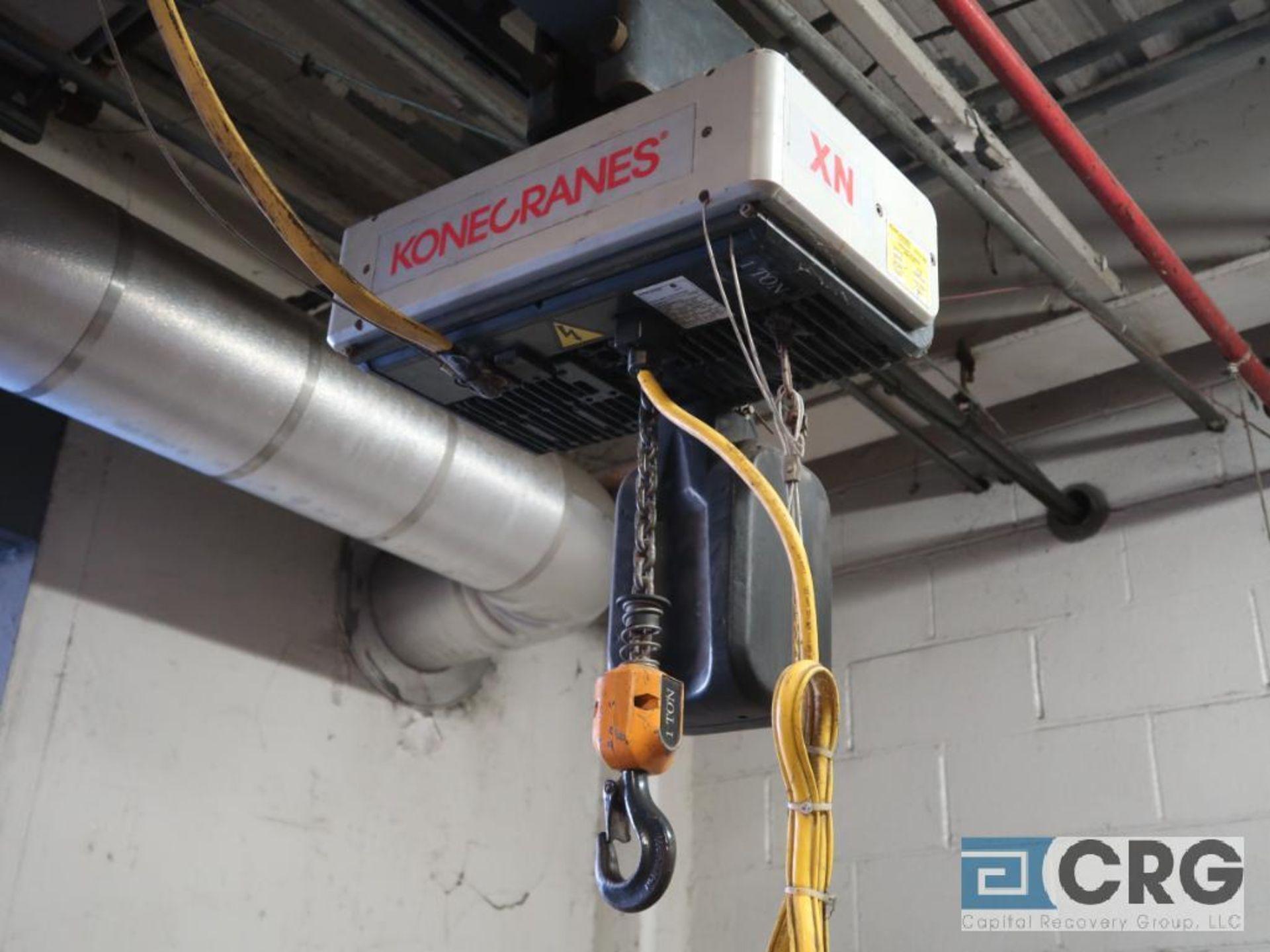 Electric chain hoist, 1 ton cap.-no rail (Stores Area) - Image 3 of 4